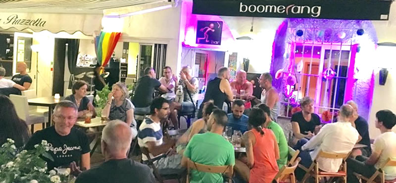 Boomerang gay bar Torremolinos
