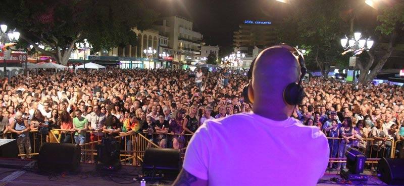 Concerts at Pride Torremolinos